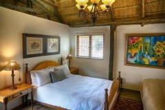 Ferndale luxury cottages bedroom